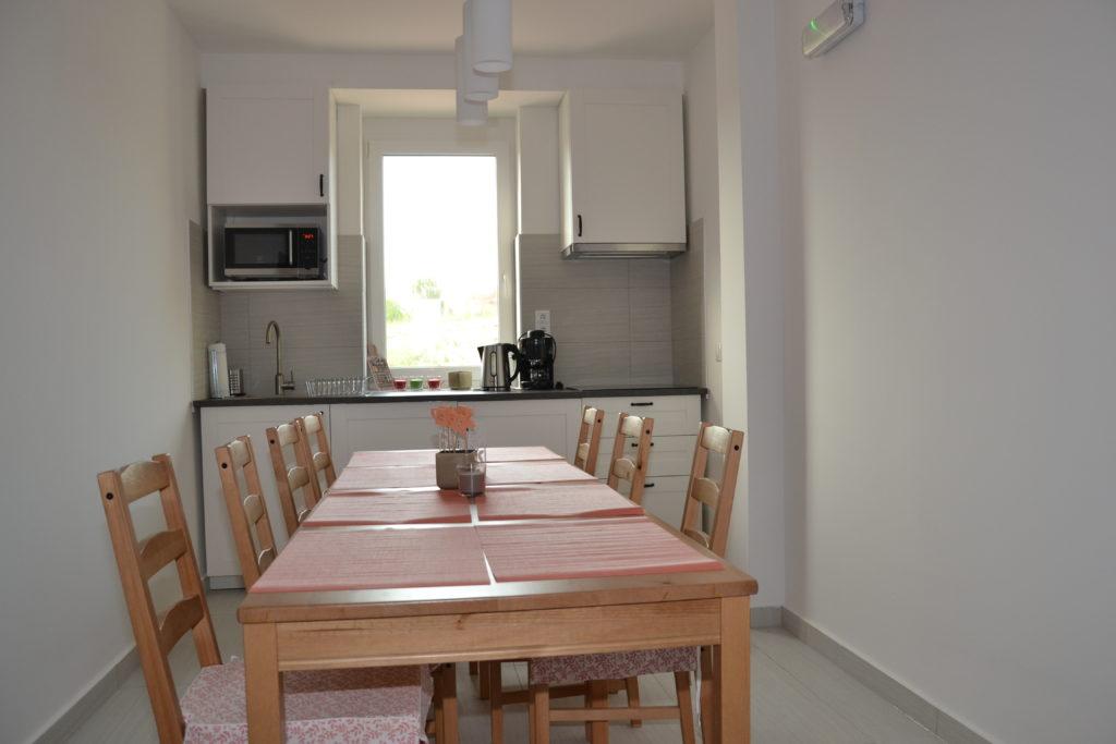 Közös konyha a Kapolcs apartmannal